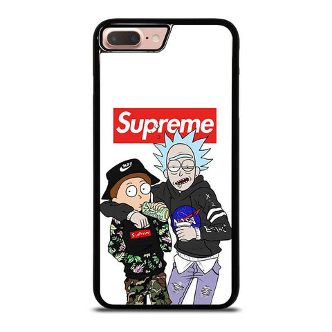 SUPREME RICK AND MORTY-iphone-8-plus-case-cover