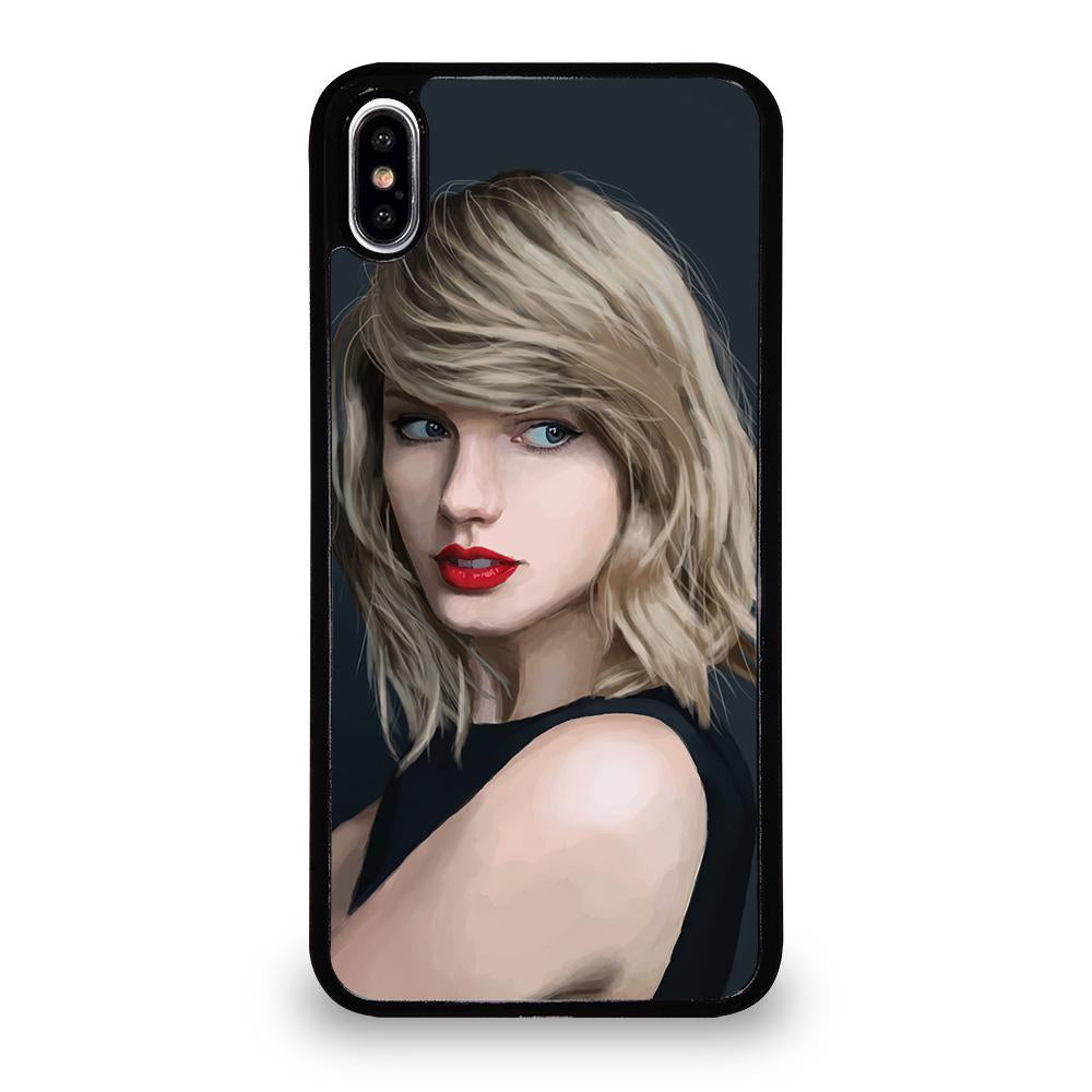 best service 98fe7 fdc9e TAYLOR SWIFT ART iPhone XS Max Case Cover - Favocase