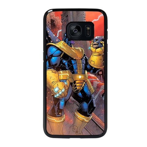 THANOS MARVEL CARTOON-samsung-galaxy-s7-edge-case-cover
