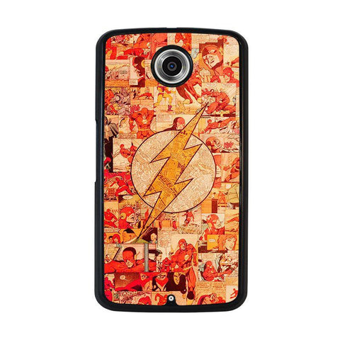 THE-FLASH-COLLAGE-nexus-6-case-cover