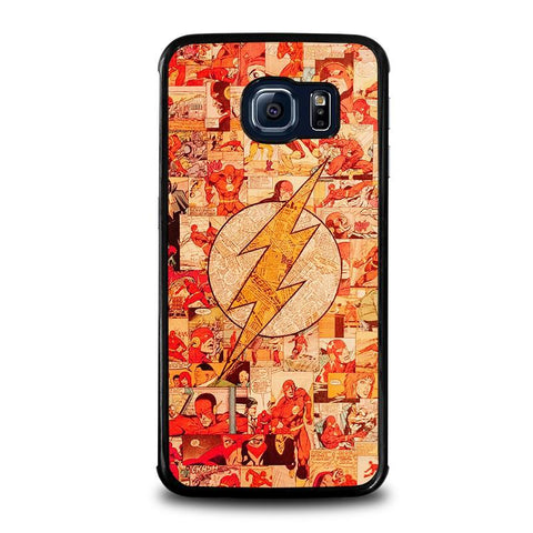 THE-FLASH-COLLAGE-samsung-galaxy-s6-edge-case-cover