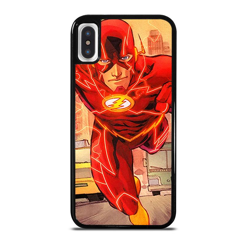 detailed look 63790 6d89a THE FLASH RUNNING DC iPhone X / XS Case Cover - Favocase