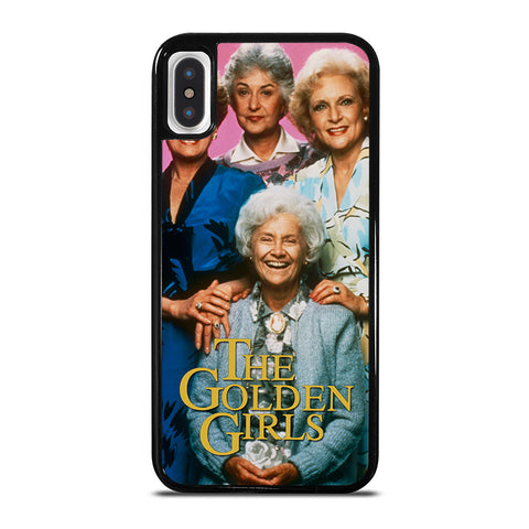 THE GOLDEN GIRLS iPhone X / XS Case - Best Custom Phone Cover Cool Personalized Design