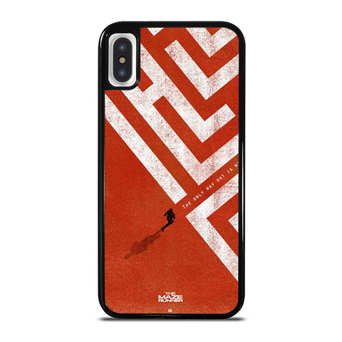 THE MAZE RUNNER iPhone X / XS Case - Best Custom Phone Cover Cool Personalized Design