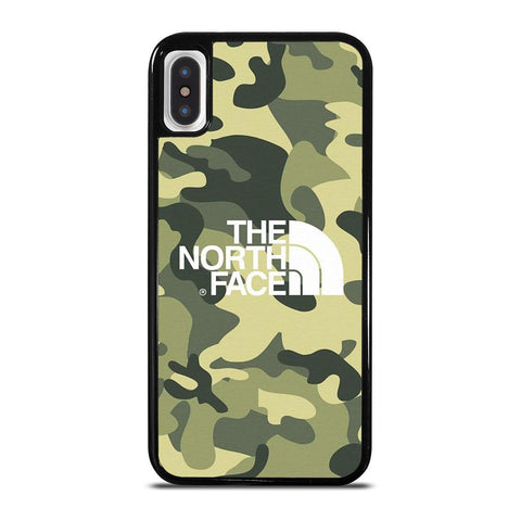THE NORTH FACE CAMO-iphone-x-case-cover