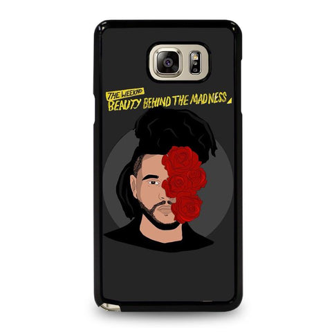 THE-WEEKND-BBTM-Beauty-Behind-The-Madness-samsung-galaxy-note-5-case-cover