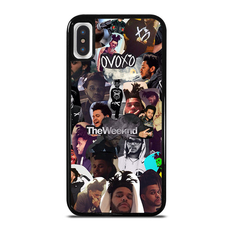THE WEEKND COLLAGE iPhone X / XS Case - Best Custom Phone Cover Cool Personalized Design