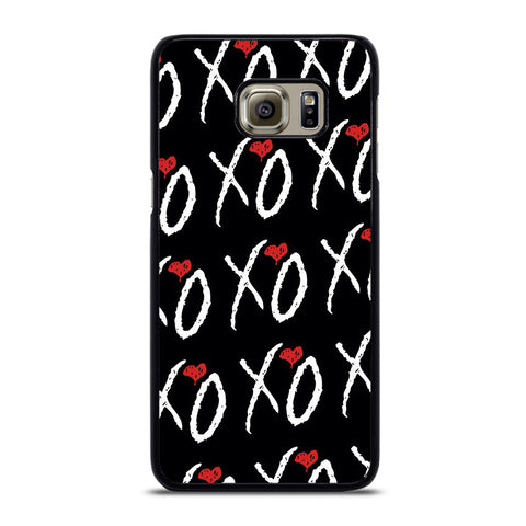 THE WEEKND XO COLLAGE-samsung-galaxy-S6-edge-case-cover