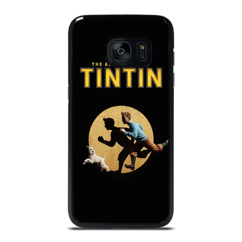 THE ADVENTURES OF TINTIN Samsung Galaxy S7 Edge Case Cover