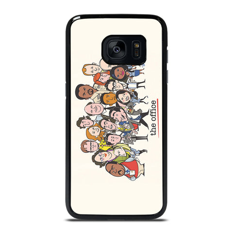 THE OFFICE CARTOON Samsung Galaxy S7 Edge Case Cover