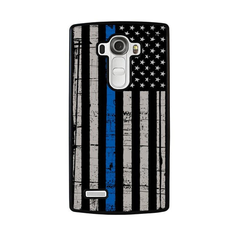 THIN-BLUE-LINE-FLAG-lg-g4-case-cover