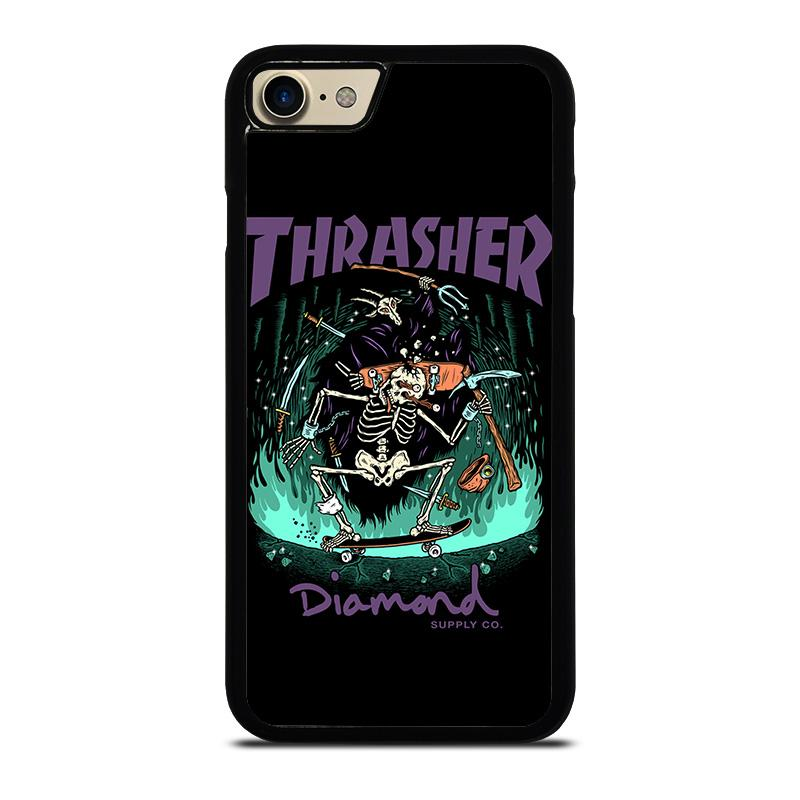 new product 87bf5 a7c71 THRASHER DIAMOND SUPPLY CO iPhone 7 Case Cover - Favocase