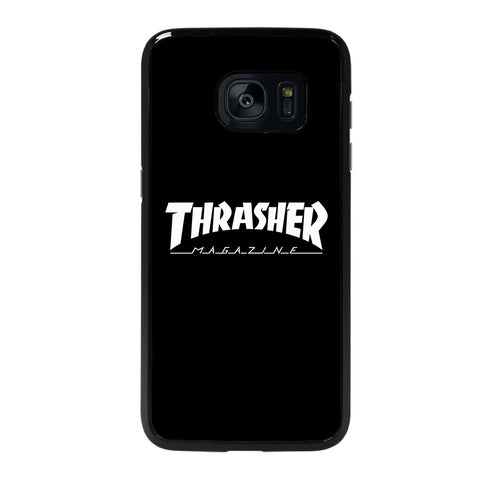 THRASHER SKATEBOARD MAGAZINE BLACK-samsung-galaxy-#REF!-edge-case-cover