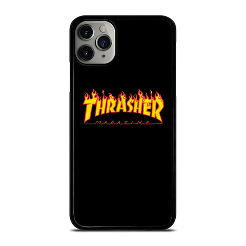 THRASHER SKATEBOARD MAGAZINE iPhone 6/6S 7 8 Plus X/XS XR 11 Pro Max Case - Cool Custom Phone Cover