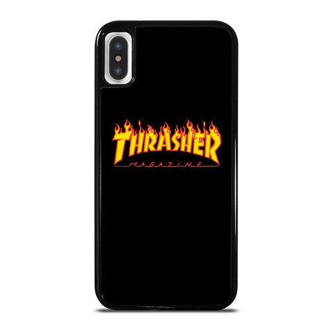 THRASHER SKATEBOARD MAGAZINE-iphone-x-case-cover
