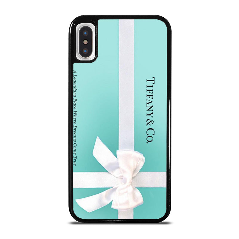 buy popular 9455a 531fd TIFFANY AND CO iPhone X / XS Case Cover - Favocase