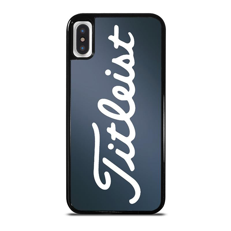 premium selection ff413 fb652 TITLEIST logo iPhone X / XS Case Cover - Favocase