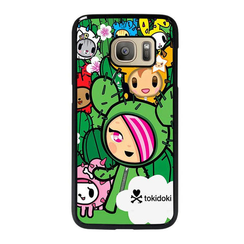 TOKIDOKI DONUTELLA CACTUS FRIENDS-samsung-galaxy-S7-case-cover