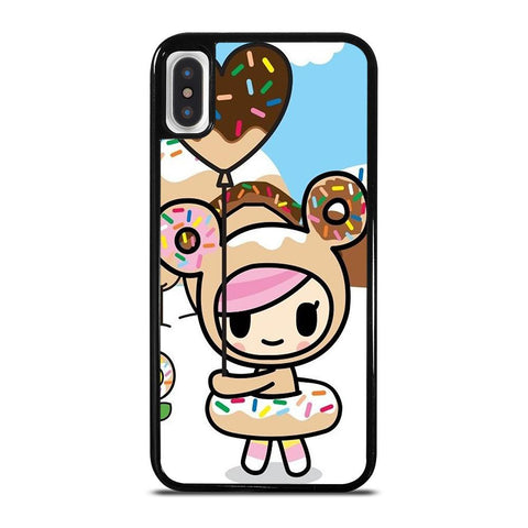 TOKIDOKI DONUTELLA NEW-iphone-x-case-cover