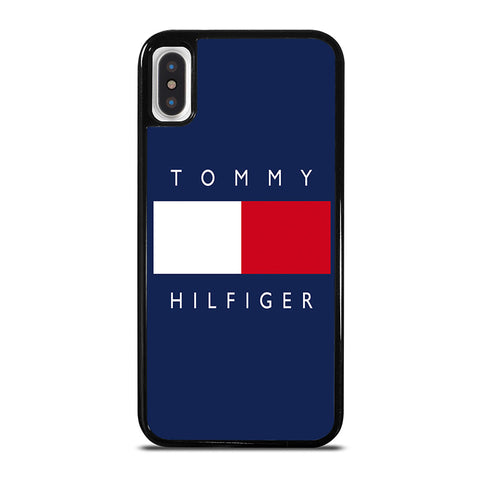 TOMMY HILFIGER iPhone X / XS Case - Best Custom Phone Cover Cool Personalized Design