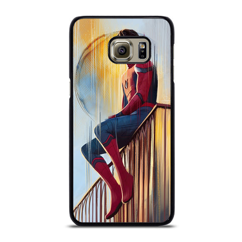 TOM HOLLAND SPIDERMAN ART-samsung-galaxy-S6-edge-case-cover