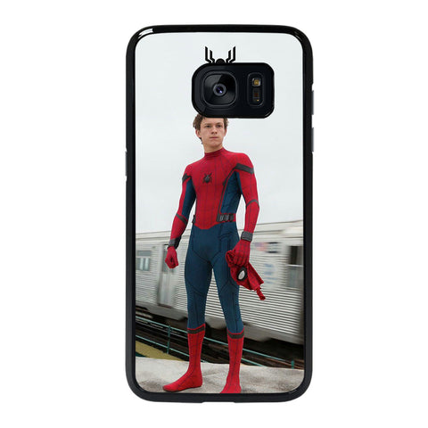 TOM HOLLAND SPIDERMAN-samsung-galaxy-s7-edge-case-cover