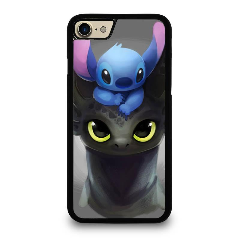 pretty nice 24151 95486 TOOTHLESS AND STITCH iPhone 7 Case Cover - Favocase
