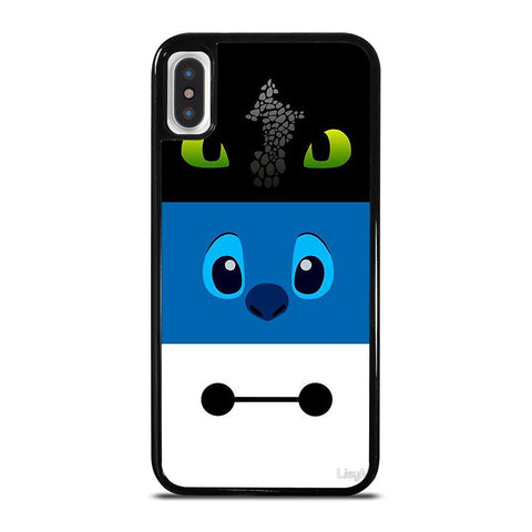 TOOTHLESS STITCH BAYMAX-iphone-x-case-cover