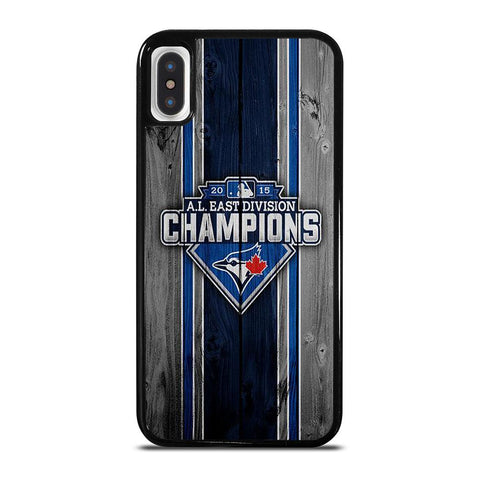 TORONTO BLUE JAYS EAST CHAMPIONS-iphone-x-case-cover