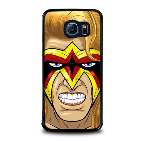 ULTIMATE-WARRIOR-FACE-PAINT-samsung-galaxy-s6-edge-case-cover
