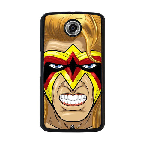 ULTIMATE-WARRIOR-FACE-PAINT-nexus-6-case-cover