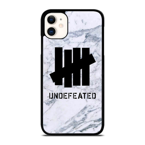 UNDEFEATED MARBLE LOGO-iphone-11-case-cover