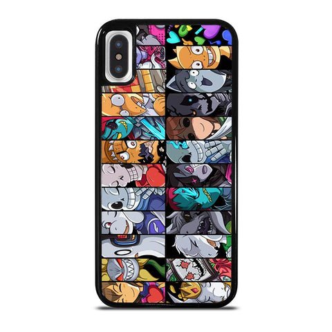UNDERTALE ALL CHARACTER -iphone-x-case-cover