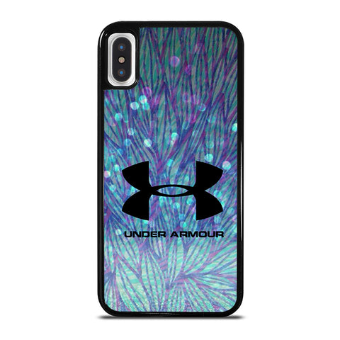 UNDER ARMOUR PATTERN LOGO iPhone X / XS Case - Best Custom Phone Cover Cool Personalized Design