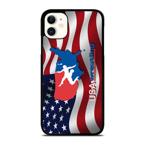 USA WRESTLING-iphone-11-case-cover