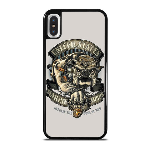 USMC US MARINE CORPS-iphone-x-case-cover