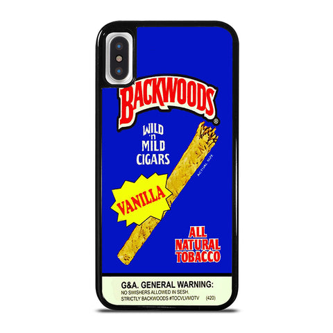 VANILLA BACKWOODS CIGARS iPhone X / XS Case - Best Custom Phone Cover Cool Personalized Design