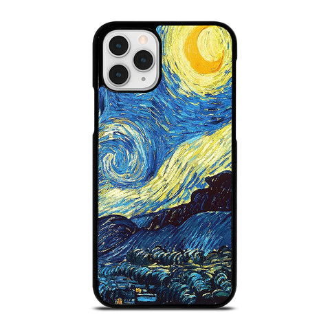 VAN GOGH STARRY NIGHT-iphone-11-pro-case-cover