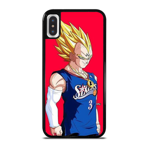 VEGETA DRAGON BALL PHILADELPHIA SIXERS iPhone X / XS Case - Best Custom Phone Cover Cool Personalized Design