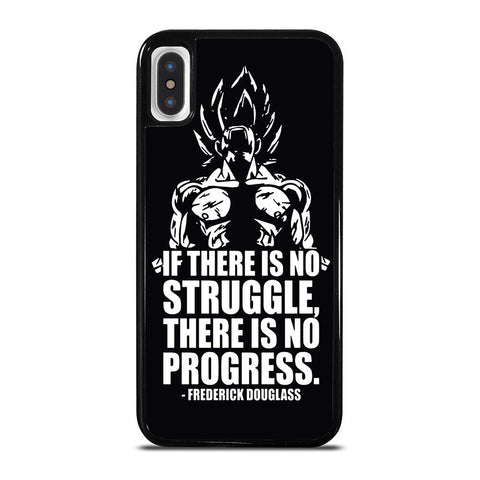 VEGETA QUOTE DRAGON BALL-iphone-x-case-cover