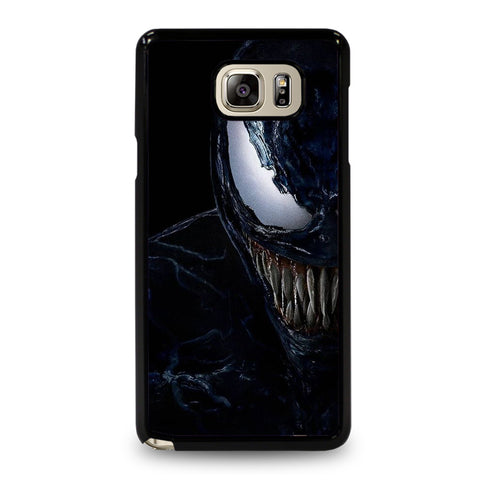 VENOM FACE SPIDERMAN-samsung-galaxy-note-5-case-cover