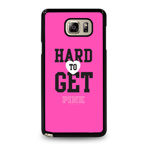 VICTORIA'S SECRET PINK HARD TO GET-samsung-galaxy-note-5-case-cover