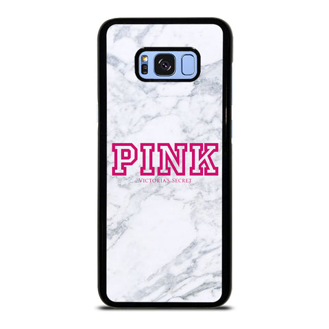 VICTORIA'S SECRET PINK MARBLE-samsung-galaxy-S8-plus-case-cover