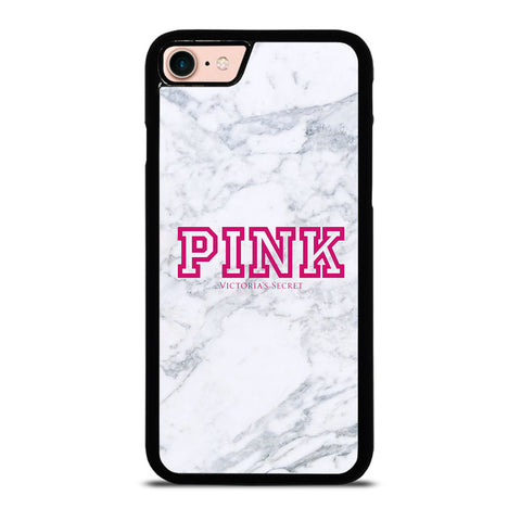 VICTORIA'S SECRET PINK MARBLE-iphone-8-case-cover