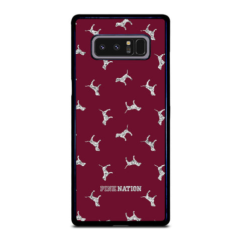 VICTORIA'S SECRET PINK NATION DOG-samsung-galaxy-note-8-case-cover