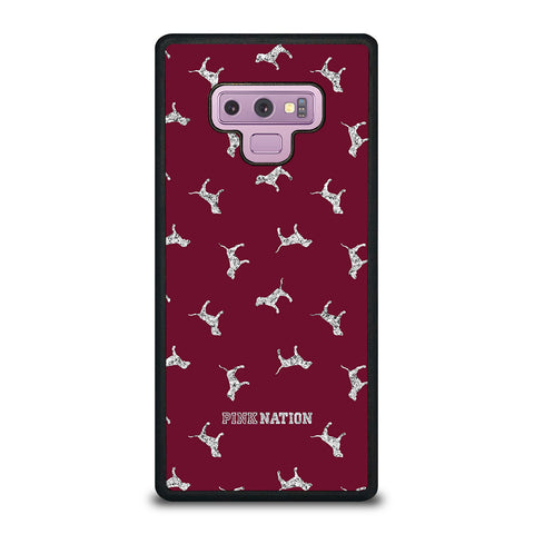 VICTORIA'S SECRET PINK NATION DOG-samsung-galaxy-note-9-case-cover