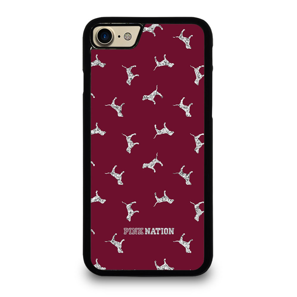 hot sale online 38c2a a7423 VICTORIA'S SECRET PINK NATION DOG iPhone 7 Case Cover - Favocase