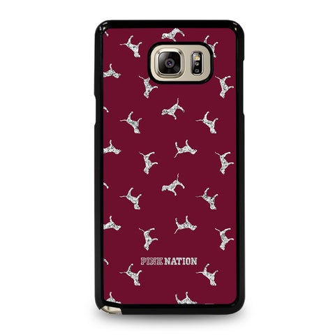 VICTORIA'S SECRET PINK NATION DOG-samsung-galaxy-note-5-case-cover