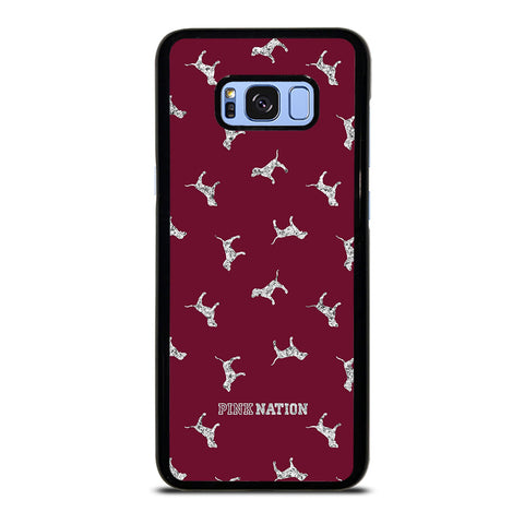 VICTORIA'S SECRET PINK NATION DOG-samsung-galaxy-S8-plus-case-cover