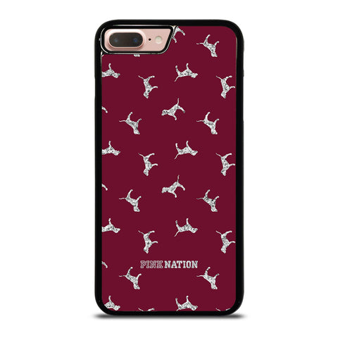 VICTORIA'S SECRET PINK NATION DOG-iphone-8-plus-case-cover